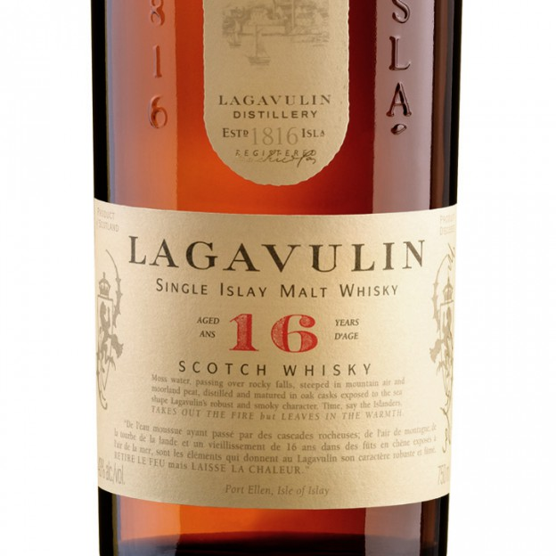 lagavulin label